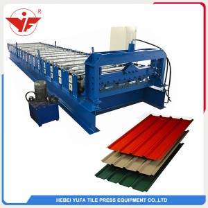 Roofing wall panel making machine