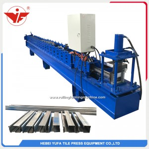 Shutter door side guide roll forming machine