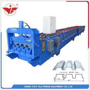 600 floor deck roll forming machine