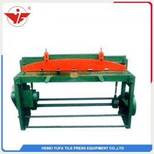 Electric control cutting machine