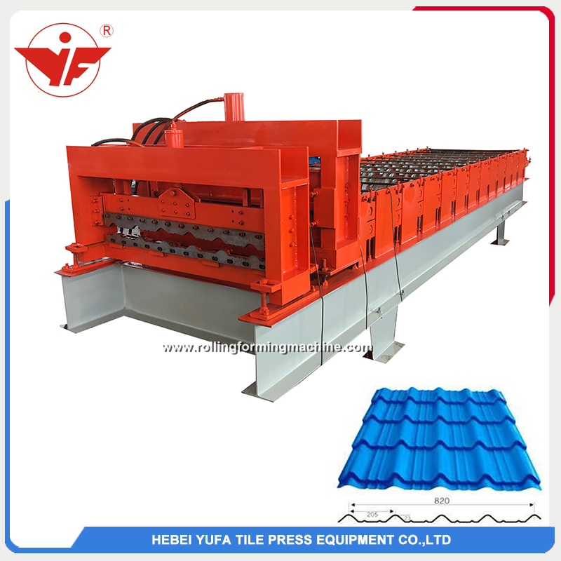 nigeria used step tile roll forming machine