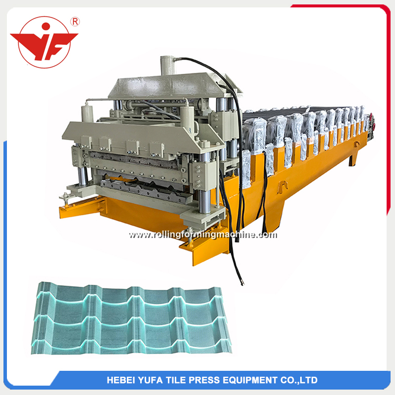 Malaysia used two layer double layer roll forming machine