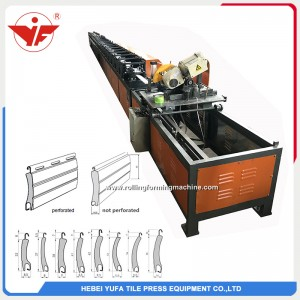 60 Pu sandwich shutter door forming line sell to Pakistan