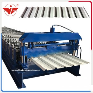 Iraq India used 1000 trapezoidal sheet tile making machinery