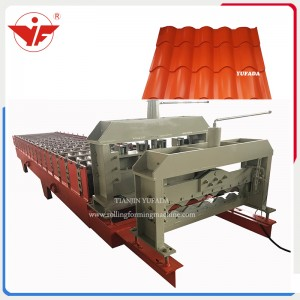 Step tile machine popular sell in Bolivia