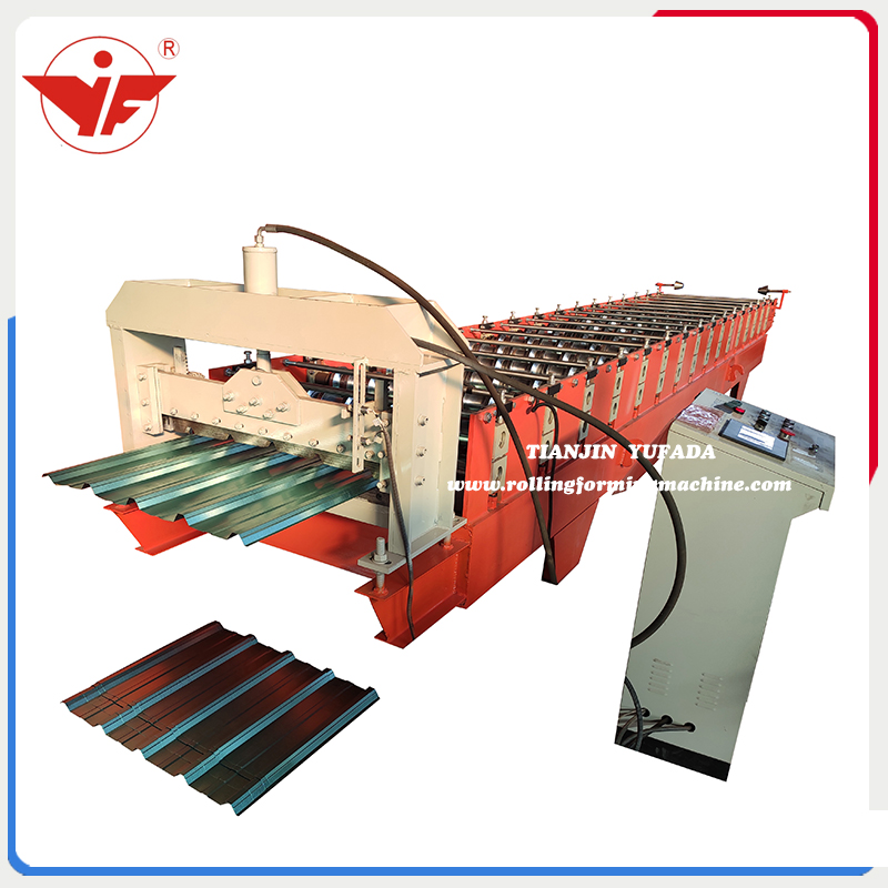 760 spandek roll forming machine for Malaysia