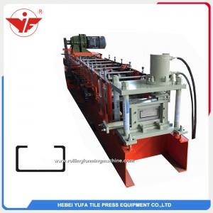 La Malaisie a utilisé un fabricant de machine de formage de rouleaux en acier de section C de bonne qualité
