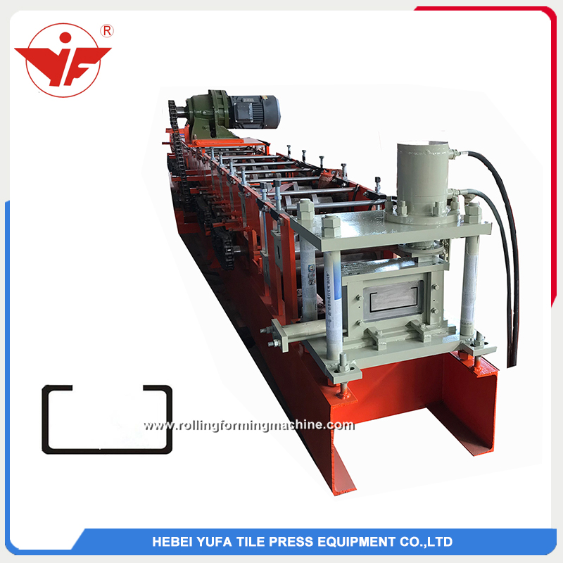 Malaysia used good quality C section steel roll forming machine manufacturer