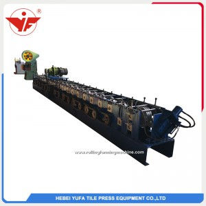 automatically punching hole U beam steel forming machine price