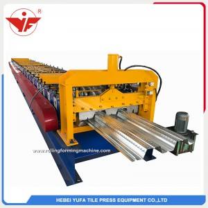 Indonesia sell 1000 3 wave floor deck roof roll forming machine