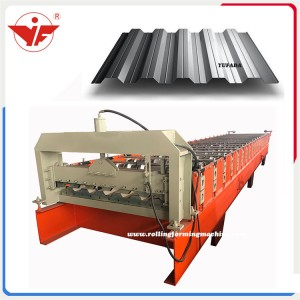 Russia used H35 roofing sheet roll forming machine