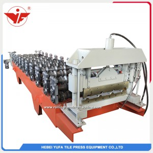 Nigeria used 600 roofing panel machine