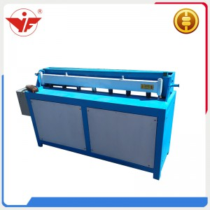 Electric cutting machine for steel coil sheet
