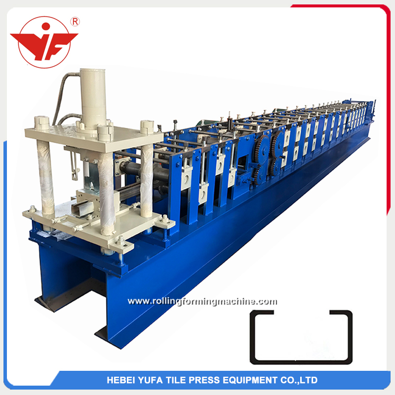 Ukraine used 3.5mm C purlin strong roll forming machine