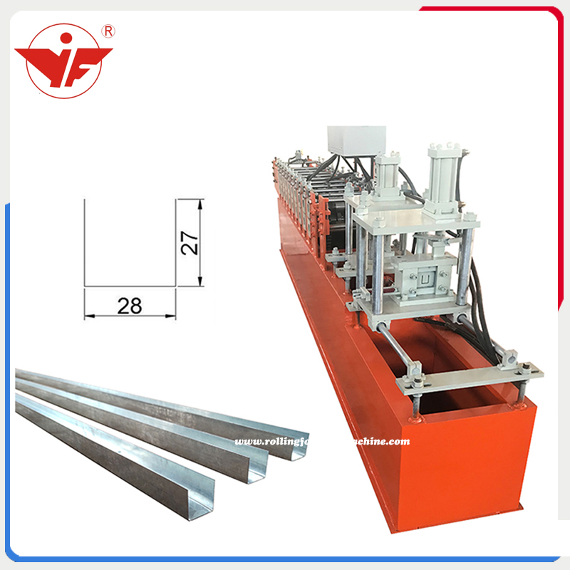 27*28 U stud roll forming machine
