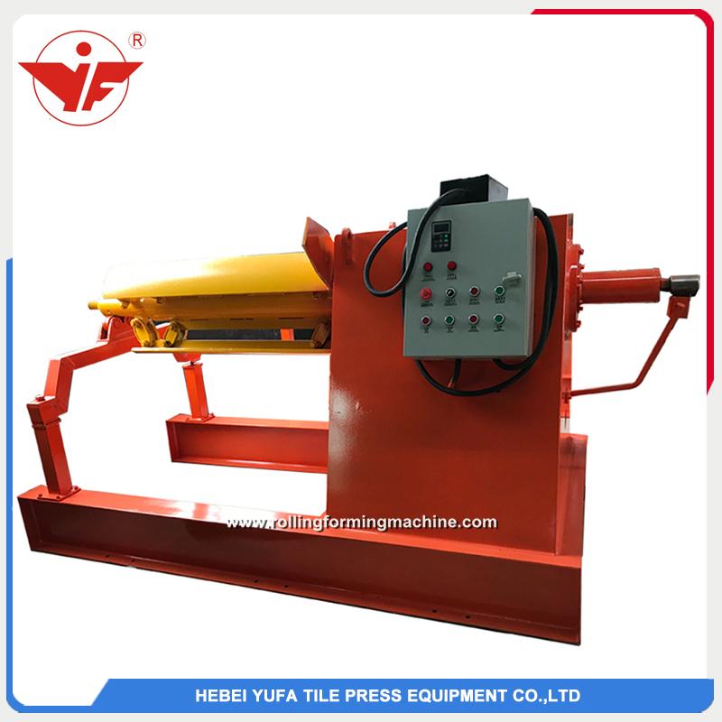 5T hydraulic uncoiler