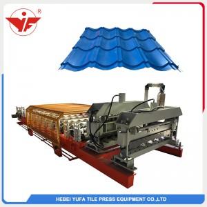 828 maszyna do formowania glazury w rolce