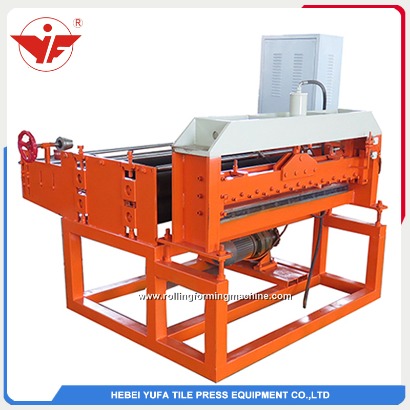 Automatic steel coil piece to piece sheet cutting machine line