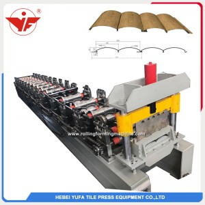 Block house roll forming machine