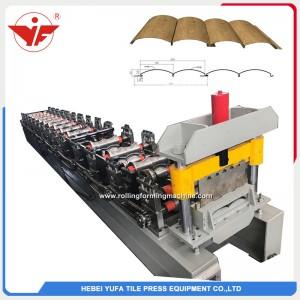 Máquina formadora de rolos de bloco