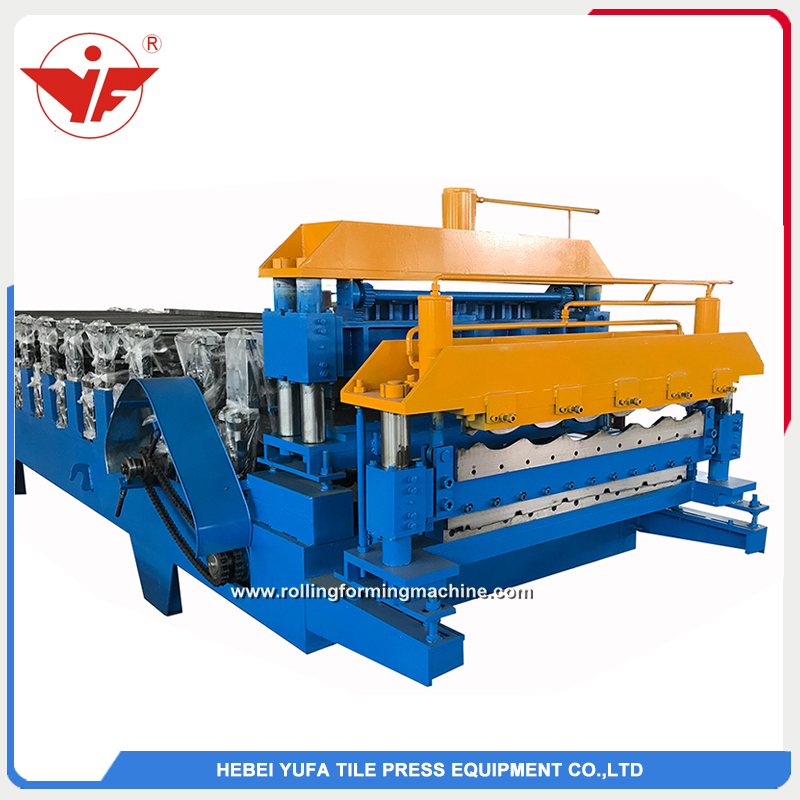 Bosnia and Herzegovina used two layer double layer roll forming machine