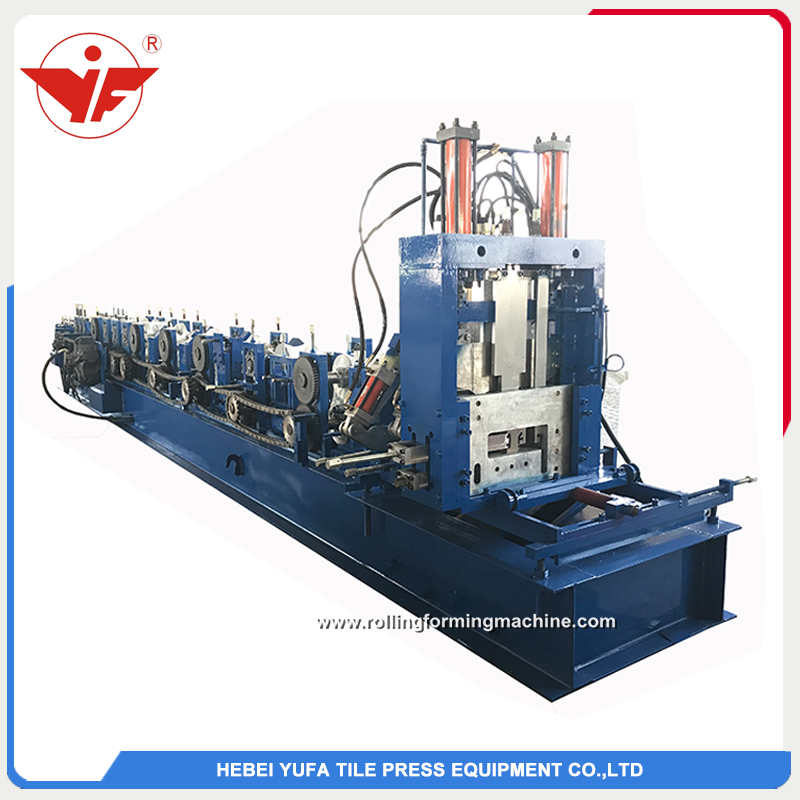 CZ purlin automatic size changeable roll forming machine manufacturers