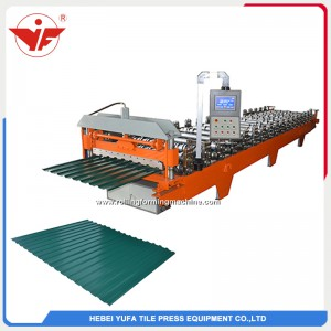 C18 roofing panel roll forming machine