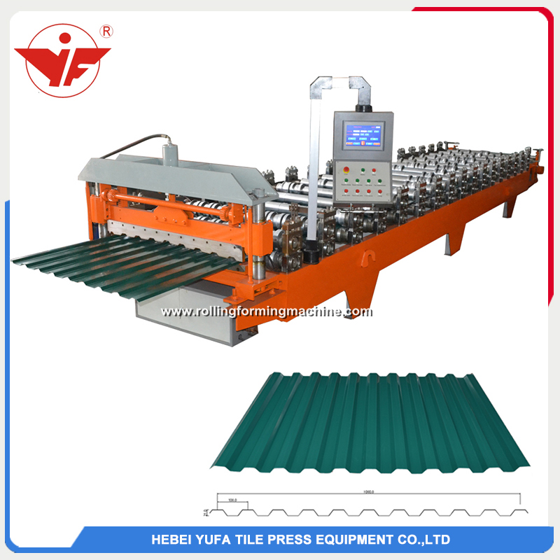 C21 roofing panel roll forming machine