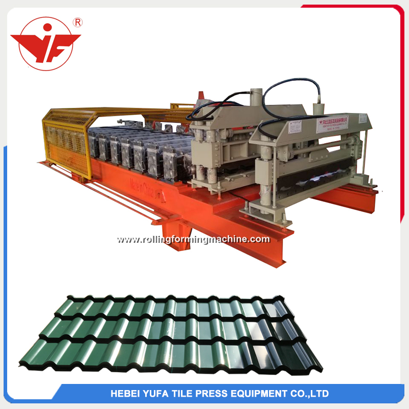 Croatia hot sell glazed tile machine