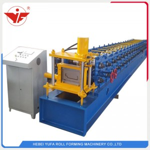 Safety door frames and fire door frames roll forming machine