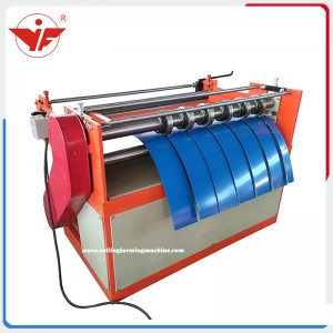 Easy and cheap slitting machine