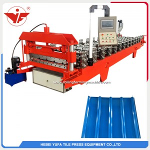 840 european standard wall roof panel machine