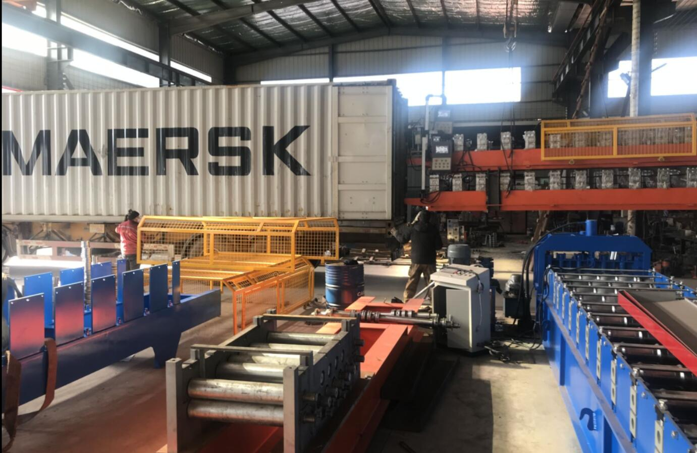 guinea roofing panel roll forming machine