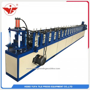 Water prevent slat roll forming machine