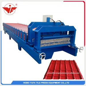 kenya bamboo corrugated roofing sheets roll forming machine