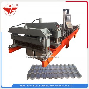 Kyrgyzstan hot sell glazed tile making machine