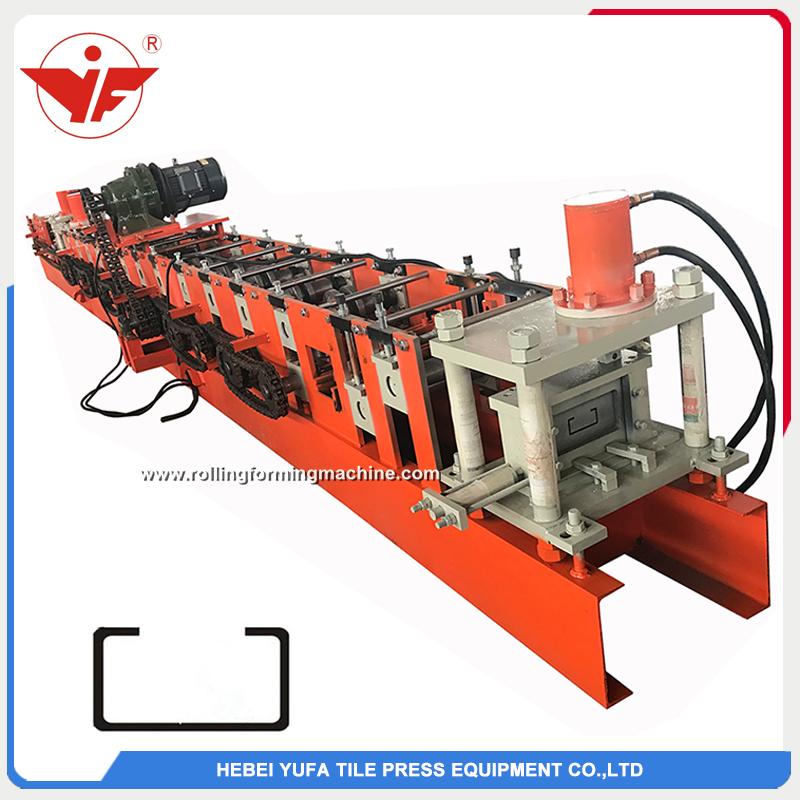 C purlin roll forming machine