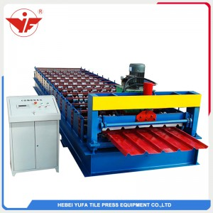 Nigeria used long span aluminum roofing panel machine