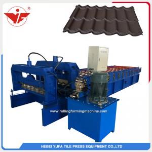 servo motor 1100 step tile forming machine