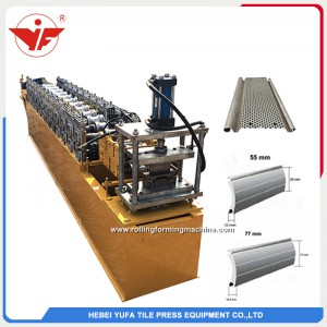shutter rolling door frame roll forming machine