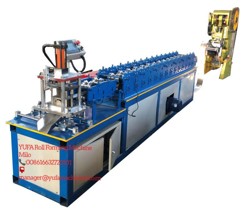 Brazil Shutter Door Roll Forming Machine Testing Successfully