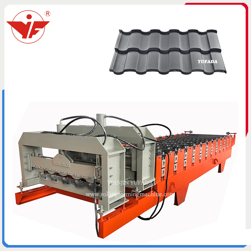 Step tile machine popular sell in Russia