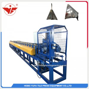 Bottom shutter door roll forming machine