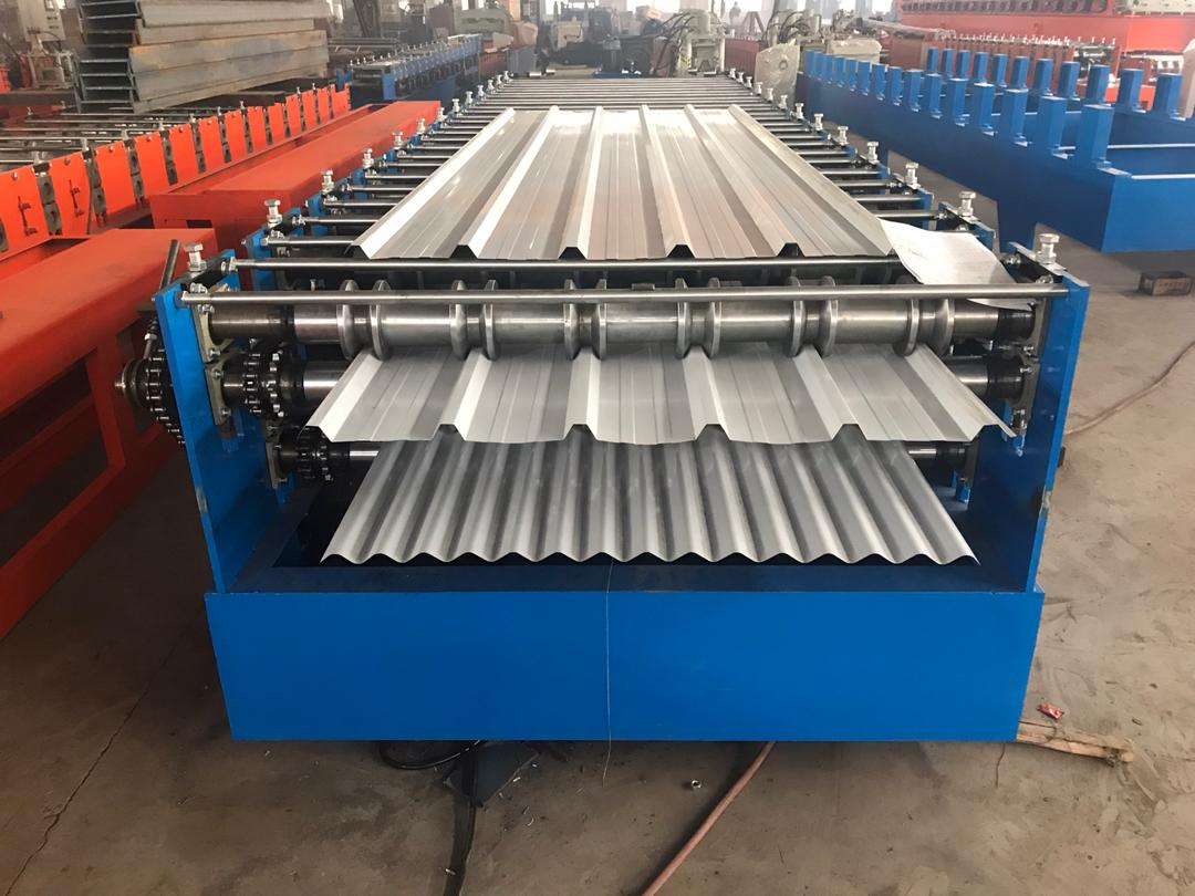 Roll Forming Machine Shipping To Nouvelle-Calédonie