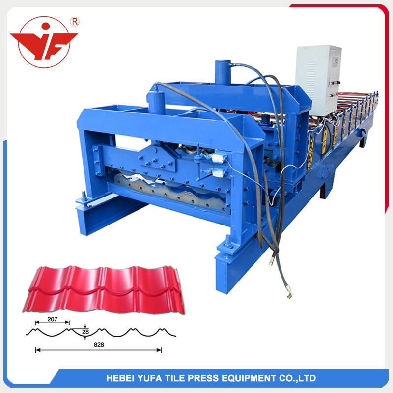 YF28-207-828 Step roofing tile roll forming machine