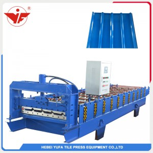 840 common wall roof panel machine
