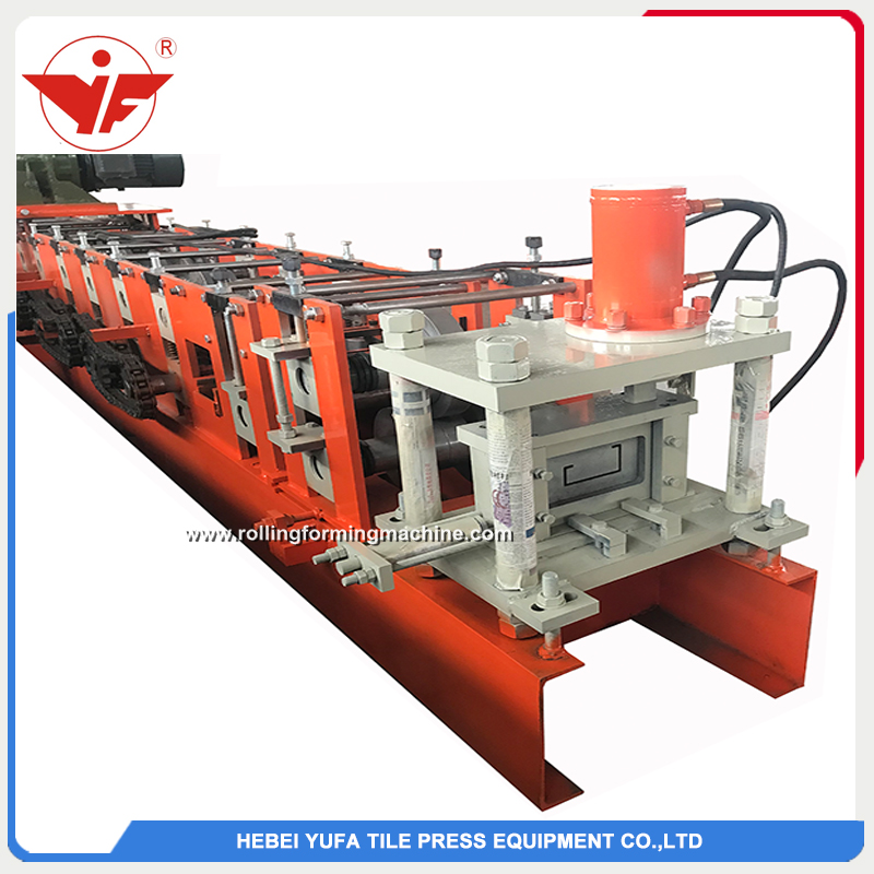 Customized C purlin shape roll forming machine