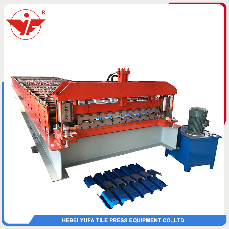 Syrian used wall roof panel machine