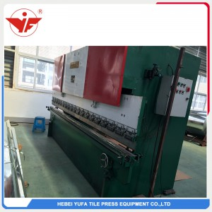Heavy hydraulic bending machine