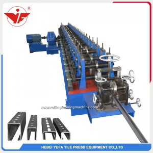 photovoltic panel stand solar mounting bracket forming machine